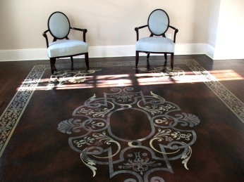 Floor stencilling, Greenwich CT