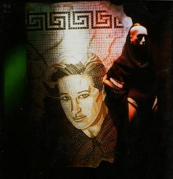 Donna Karan Portrait – Faux Mosaics at Bloomingdale's NYC
