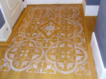 Kitchen floor Gramercy Park