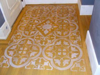 Kitchen floor Gramercy Park
