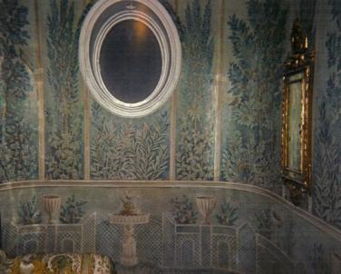 Roman Fresco inspired mural