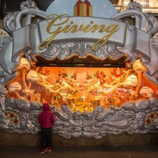 "AFTER Macy's ""Giving"" Holiday Window"