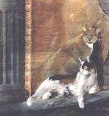 Faux fresco, Tribeca, NY