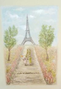 Lulu et Madeline a Paris