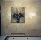 Faux Limestone Foyer