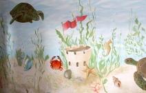 Underwater Mural Tribeca
