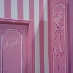 Painted set for Victoria's Secret