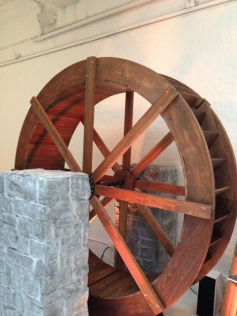Aberlour wheel tower