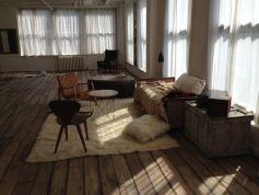 Victoria's Secret Lounge; at Gary's PH Loft, Manhattan
