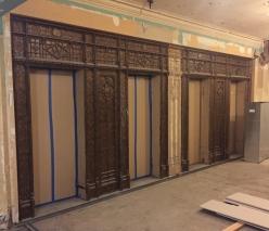 Elevators before.