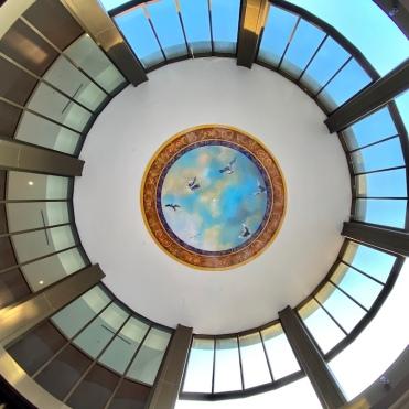 Rotunda Sky Mural